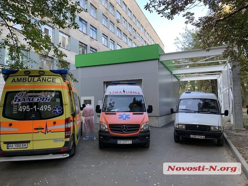 В Николаевской области за сутки 115 новых случаев COVID-19, 3 человека скончались