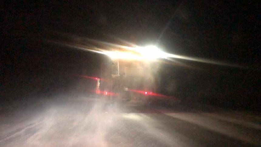 В Николаевской области бушует непогода: началась метель, на дорогах гололед