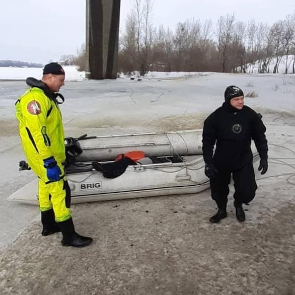 В Киеве самоубийца прыгнул с Северного моста