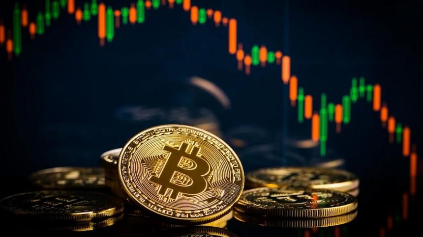 Цена биткоина резко рухнула после рекордных выходных