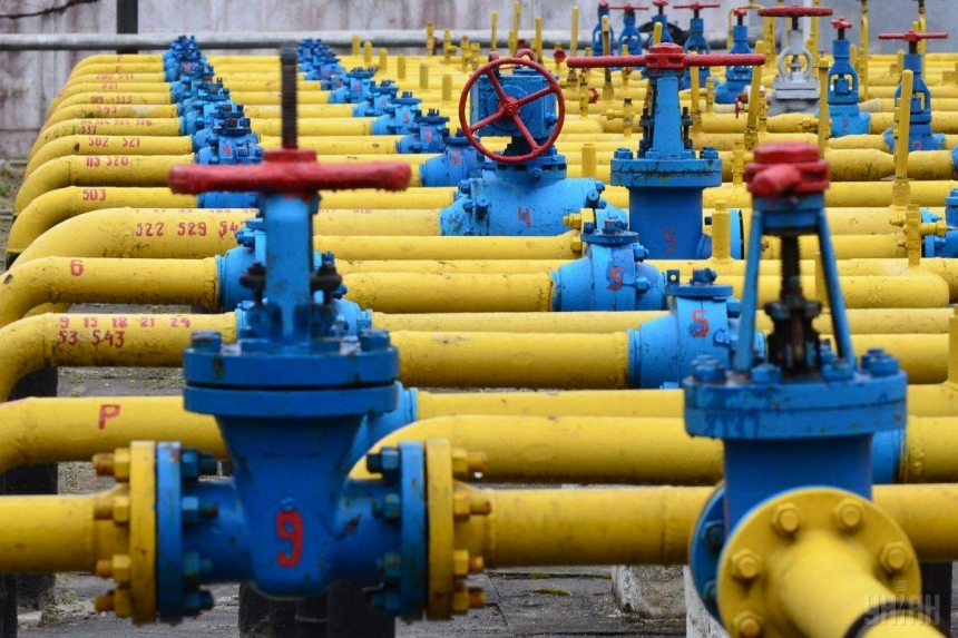 В Украине использовали 10 млрд кубометров запасов газа