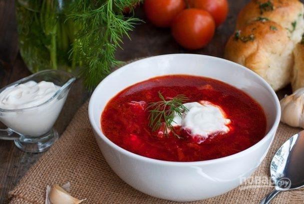 Украинский борщ вошел в ТОП-20 самых вкусных первых блюд мира