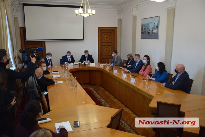 В Николаеве подписали меморандум о строительстве за 80 млн тоннеля для грузовиков