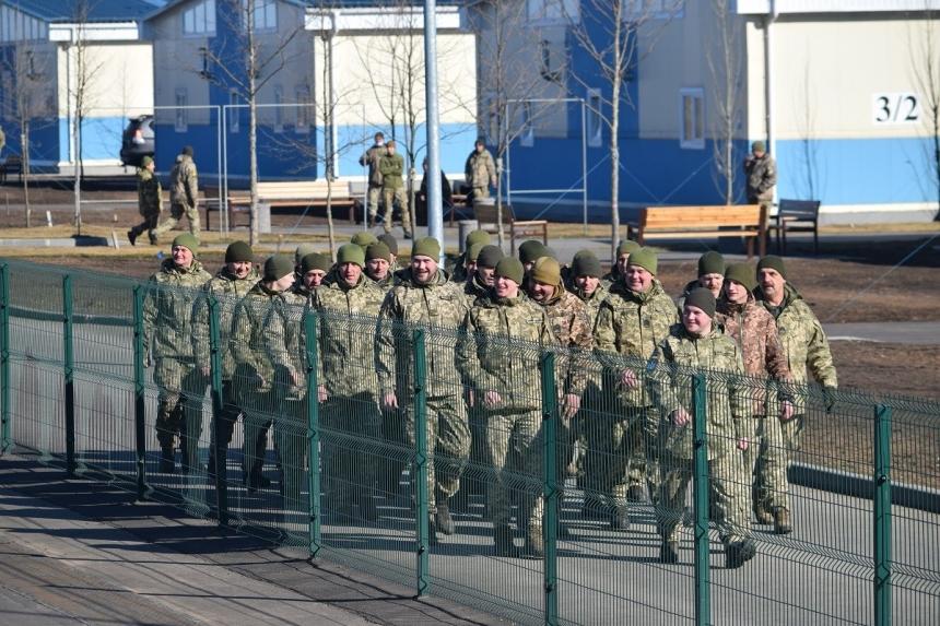 В новом военном городке на «Ширлане» первой разместилась мотопехотная бригада