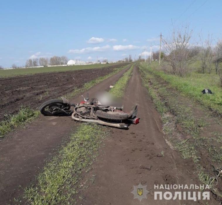 В Николаевской области перевернулся «ИЖ» – мотоциклист погиб на месте