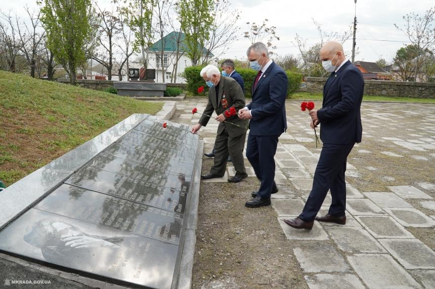 В Николаеве почтили память погибших в годы Великой отечественной войны