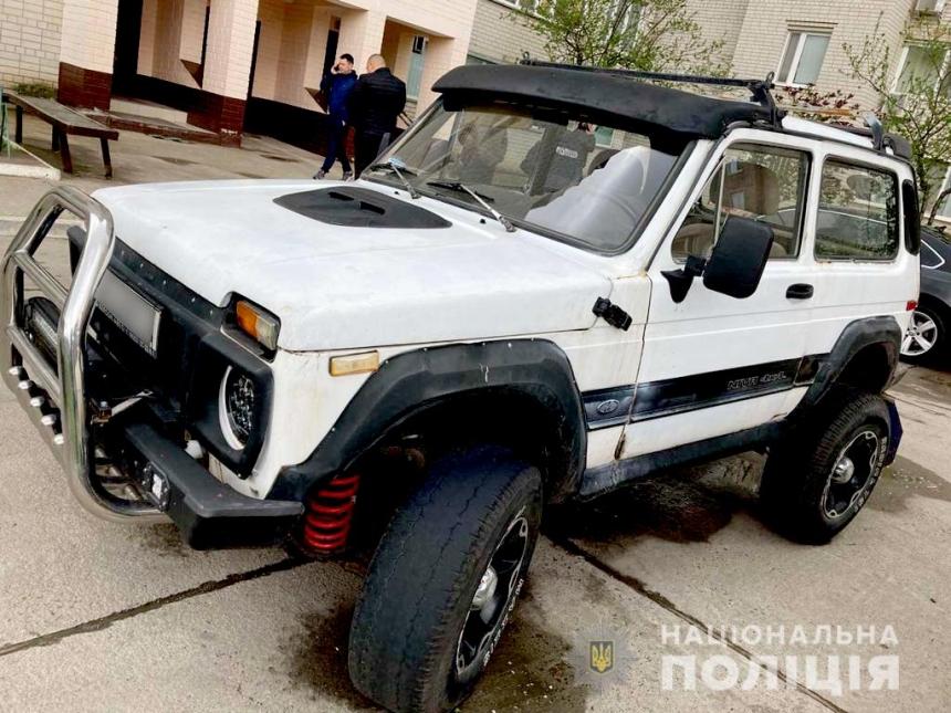 В Южноукраинске мужчина угнал «модифицированный» ВАЗ – авто долго искать не пришлось