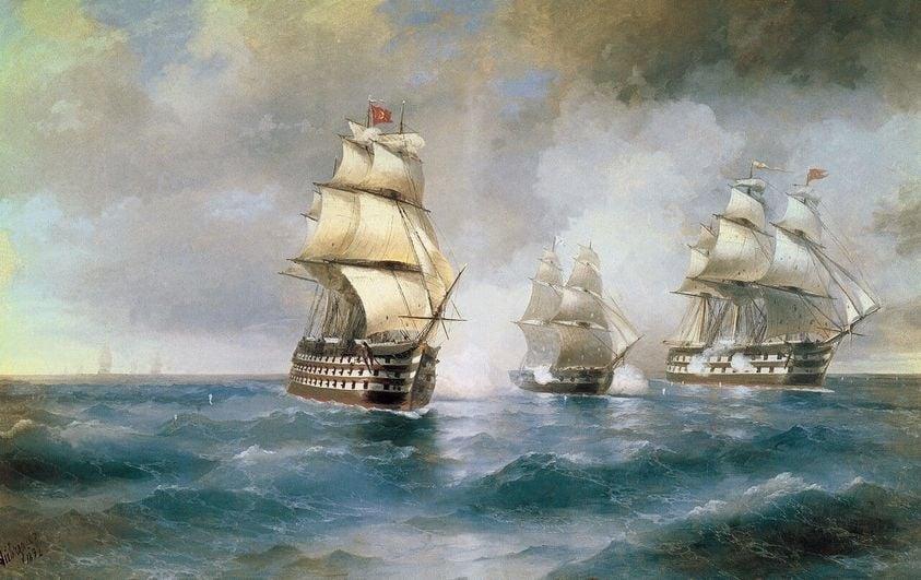 Сегодня 192-я годовщина подвига моряков под командованием капитан-лейтенанта Казарского