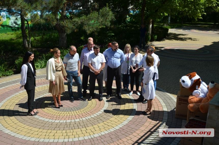 В Николаеве Королевская выступила в защиту Дома малютки и призвала женщин объединиться