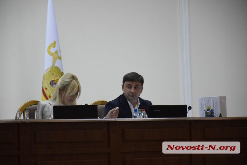 В Николаевском облсовете женщины-депутаты объединились в межфракционную группу