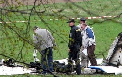 В Чехии по неизвестным причинам разбился самолет: погиб один человек