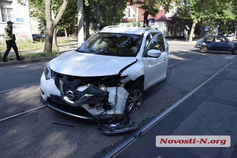 Депутат горсовета попал в ДТП в центре Николаева