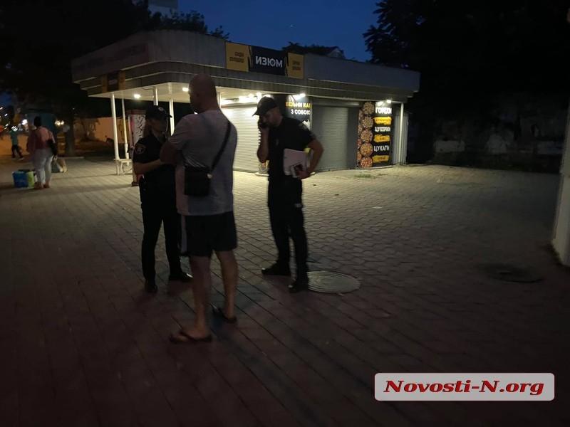 В центре Николаева «Мерседес» сбил 18-летнюю девушку