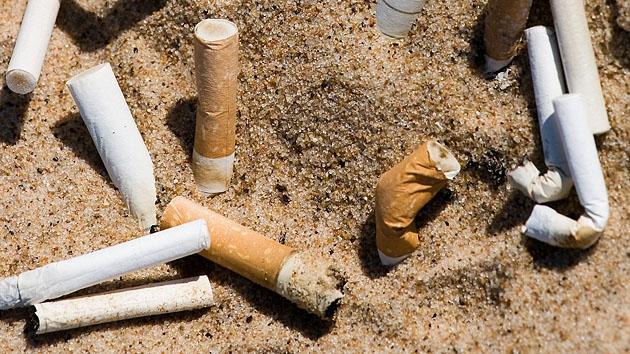 Николаевцы больше всего засоряют пляжи окурками