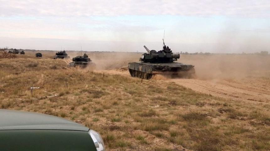 В Николаевской области проходят учения морских пехотинцев (фото)