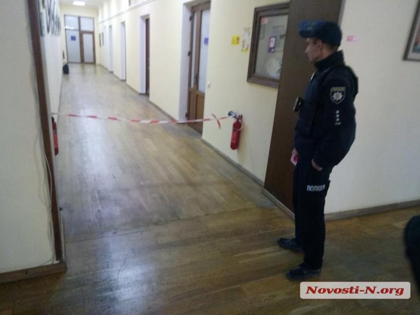 В Николаеве «заминировали» здание городского совета