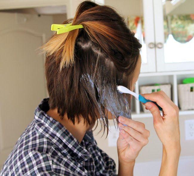 Балаяж в домашних условиях пошаговое на короткие волосы