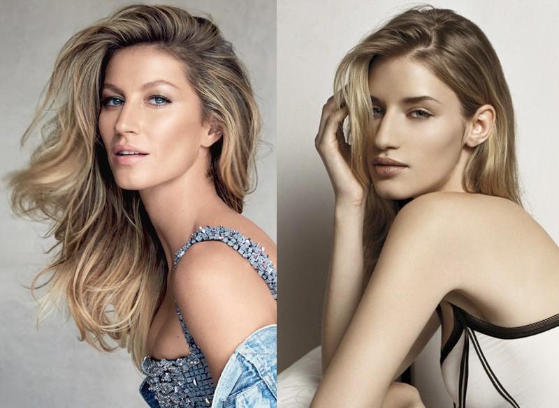 Топ-10 знаменитых моделей, похожих как сестры (4)