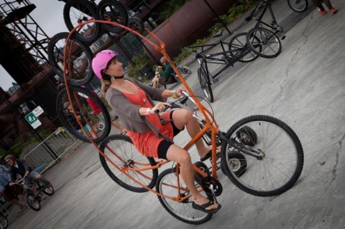 Cамые необычные и креативные велосипеды