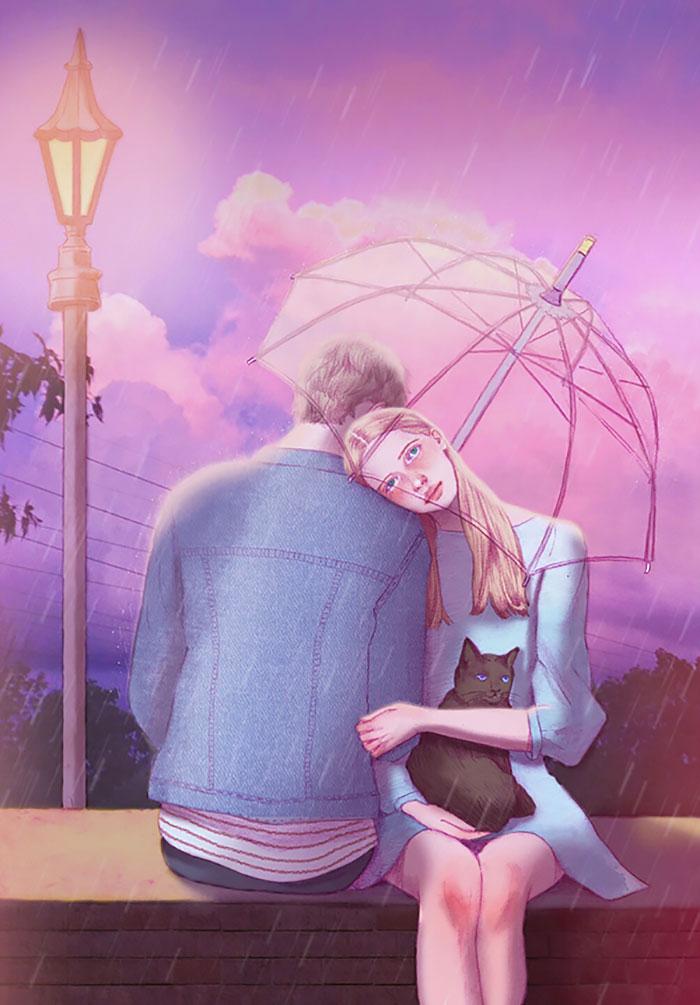 Романтика в картинках рисунки