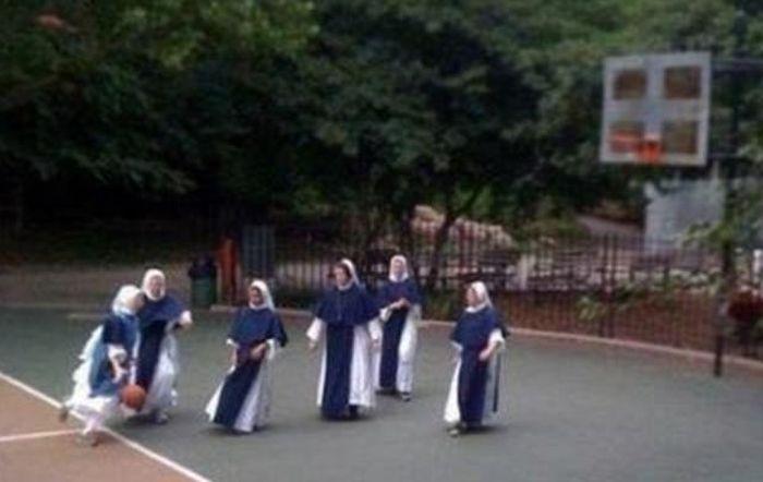 Монахини умеют хорошо проводить досуг