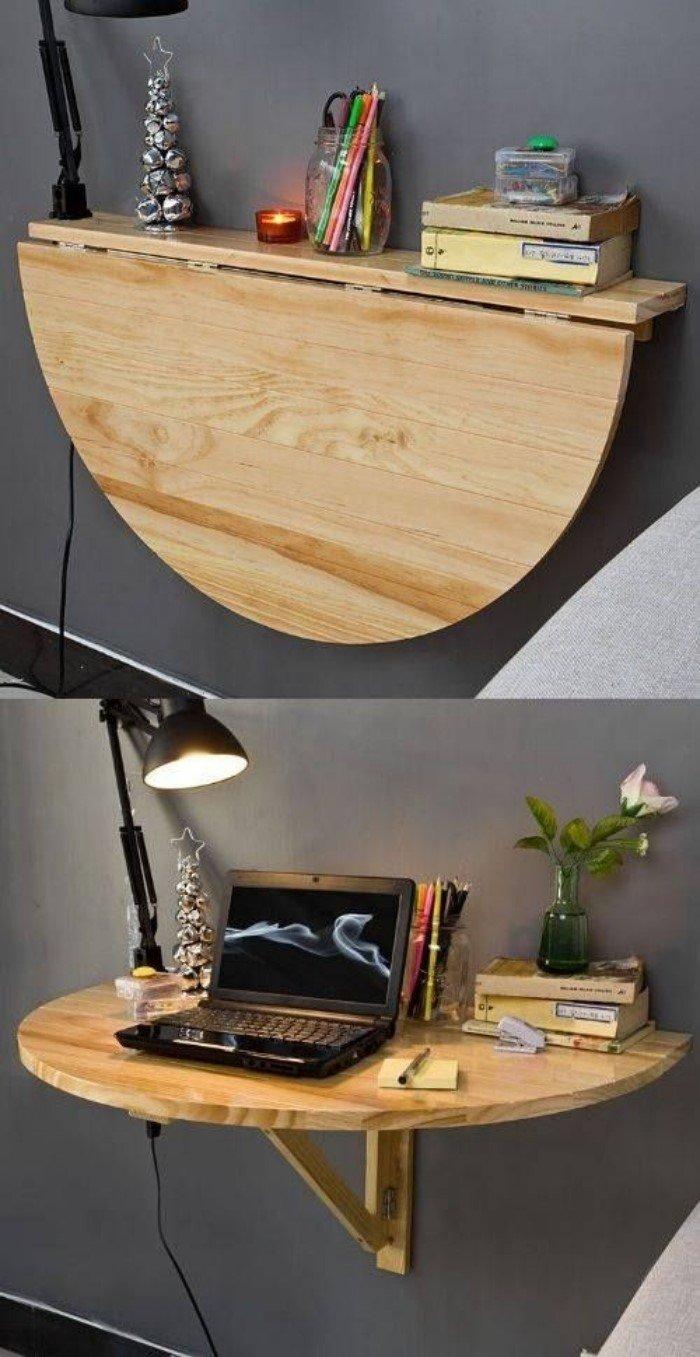 Откидной стол, кухонный стол своими руками. Обеденный 76