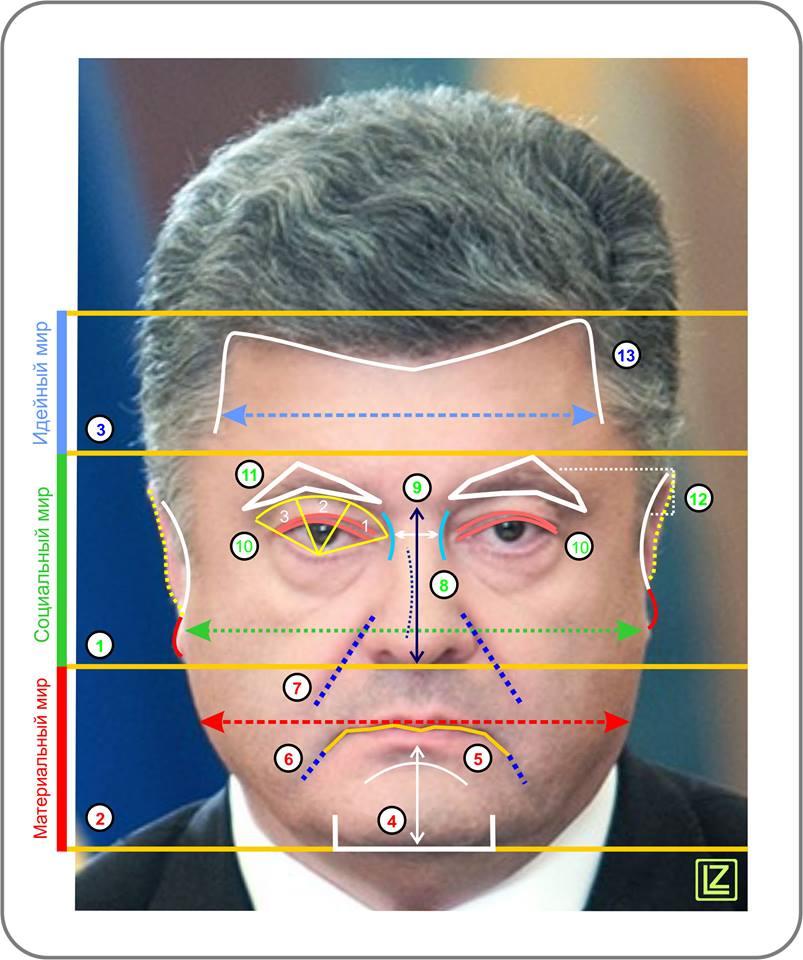 Физиогномика в картинках фото