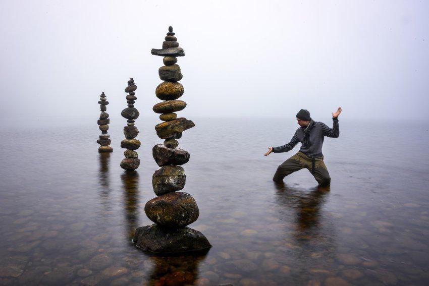 уравновешивание в фотографии без