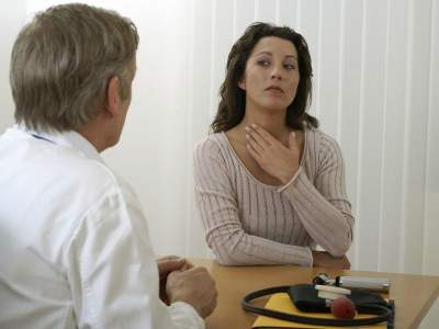 Что делать если першит в горле в домашних условиях
