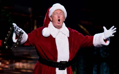 Трамп посмеялся над глобальным потеплением нафоне морозов вСША