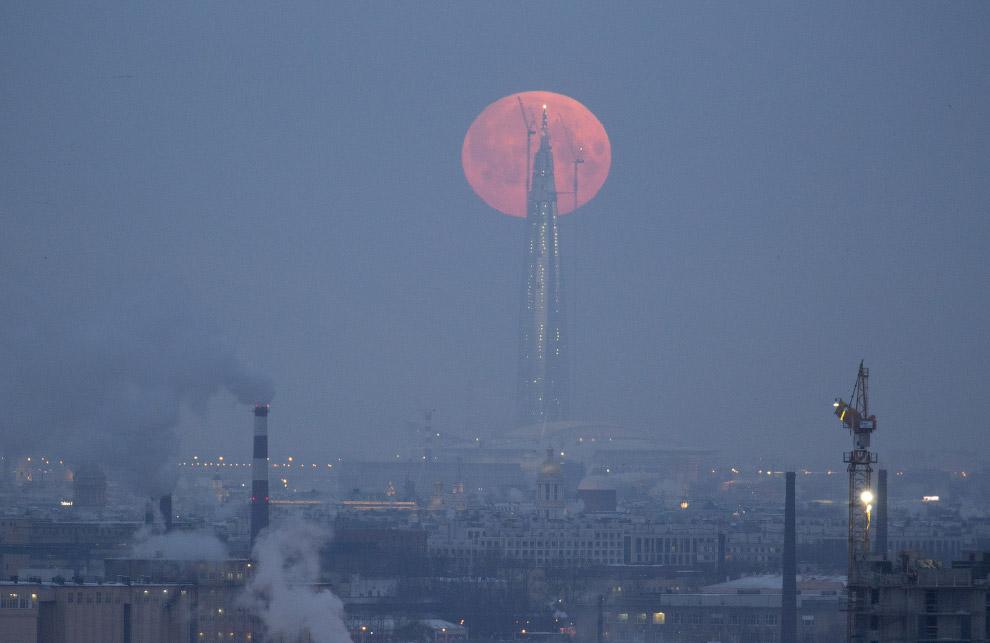 Сегодня граждане ЕАО смогут наблюдать первое лунное затмение в нынешнем 2018г.