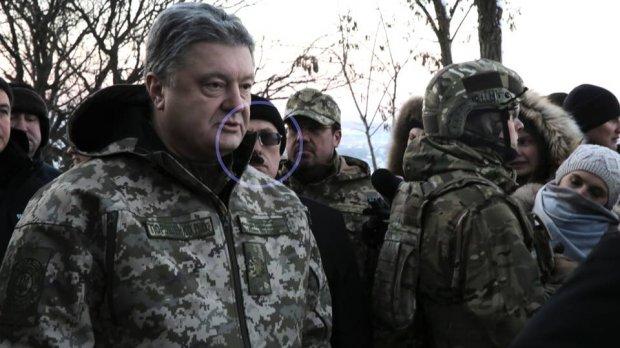 Падучая: Знаменосцу стало худо вовремя выступления Порошенко