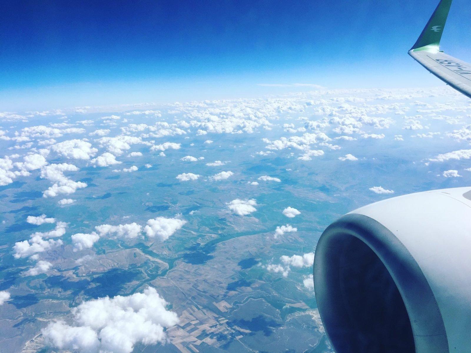 изящные красивый вид из окна самолета фото рецепты позволяют