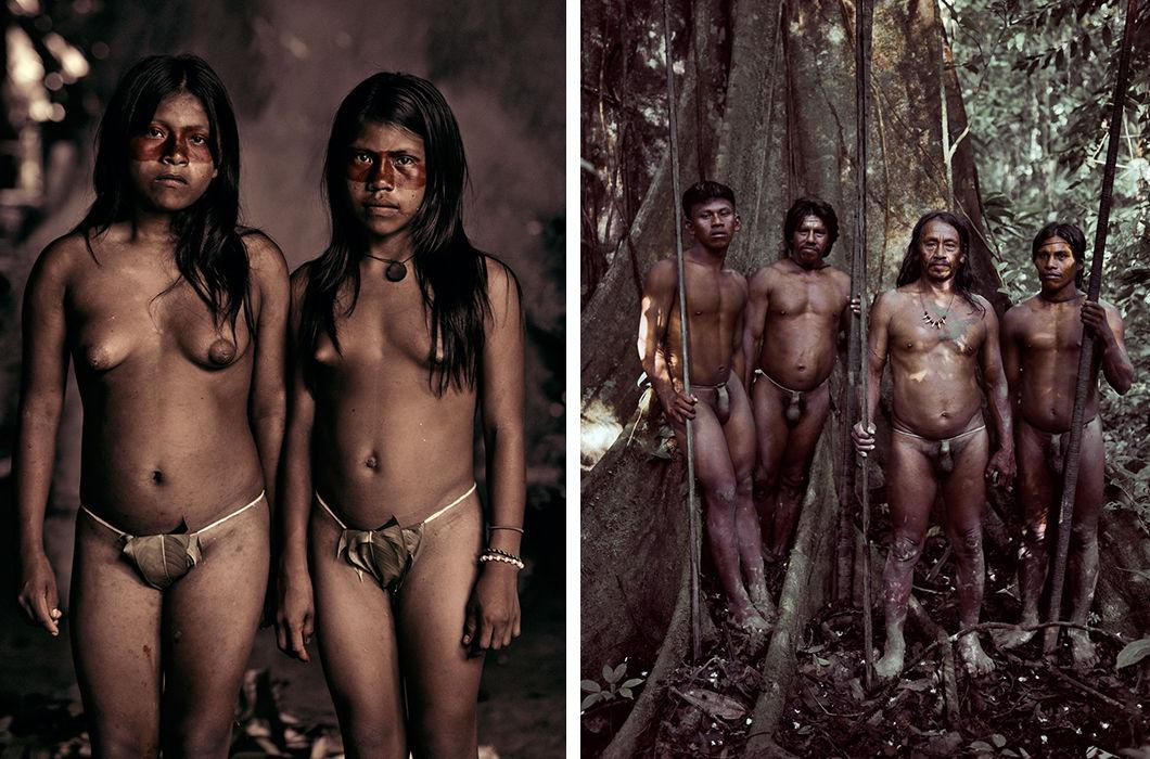 нос дикие племена америки фото такое стс