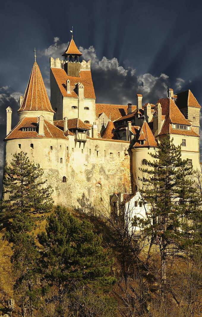 замок графа Дракулы, замок Бран, Румыния (фото)
