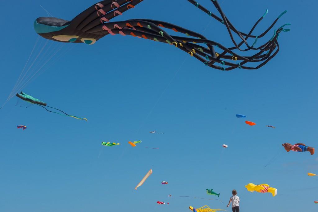 Ежегодный Фестиваль воздушных Змеев 2018 на острове Фуэртевентура