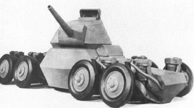 Самые необычные танки в истории человечества. Фото