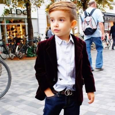 Самые стильные дети в Instagram. Фото