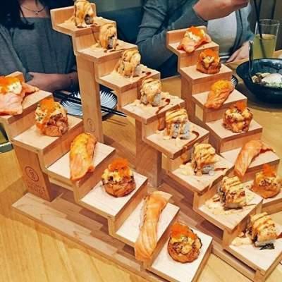 Самая необычная подача блюд в ресторанах. Фото