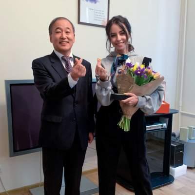 Украинскую поп-звезду наградили за популяризацию Кореи