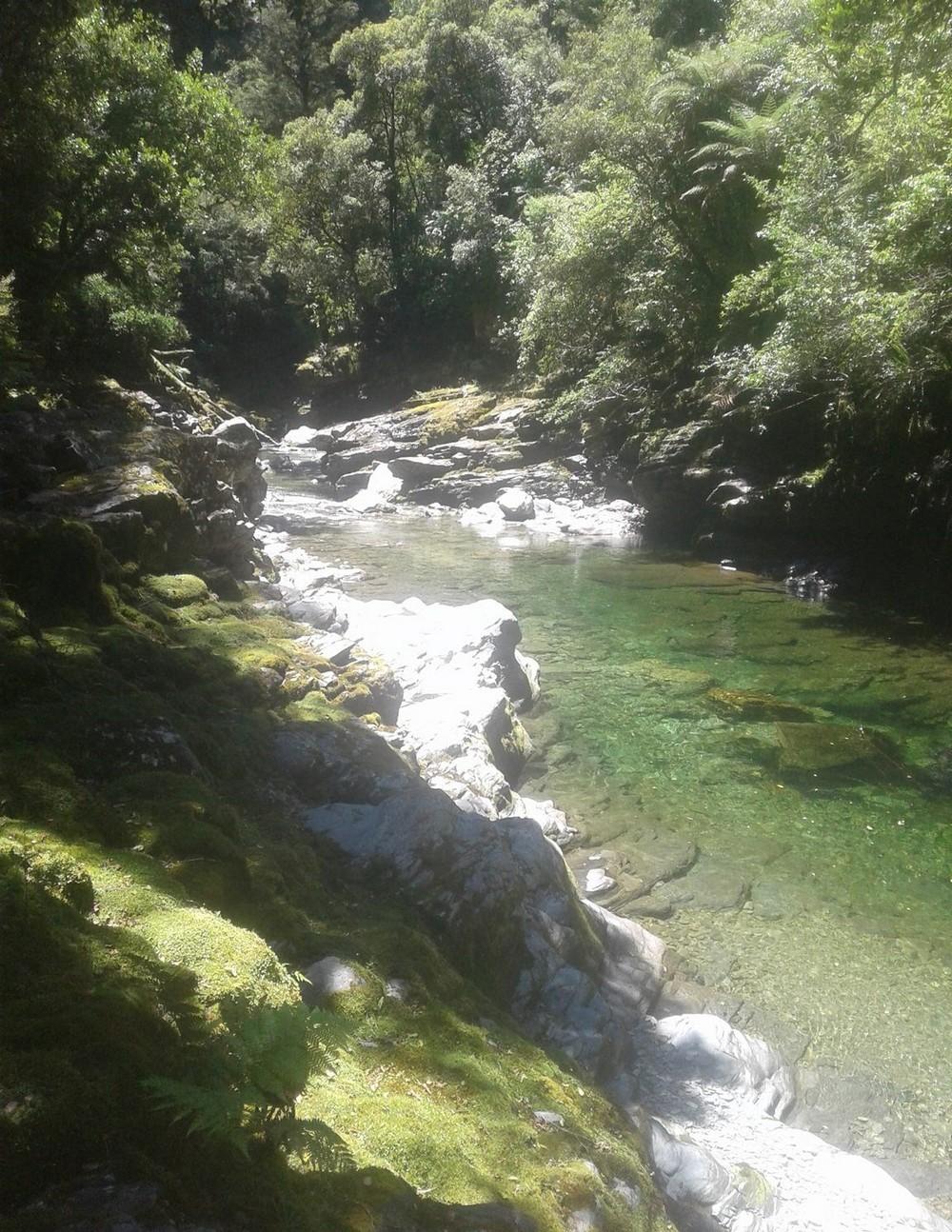 В Новой Зеландии продается участок золотоносной реки
