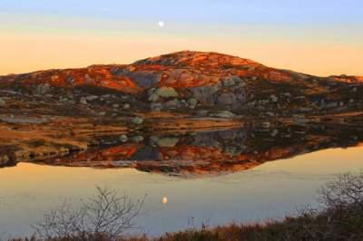 Фотографы показали, как выглядит зима в Норвегии. Фото
