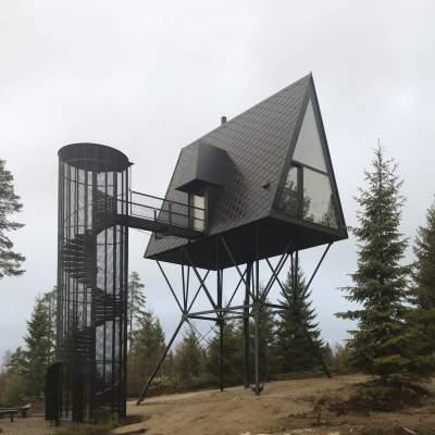 Домики в Норвегии для любителей необычного отдыха. Фото