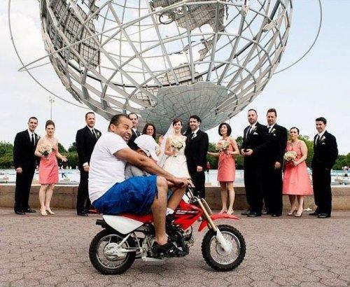 Подборка курьезных снимков со свадьбы (ФОТО)
