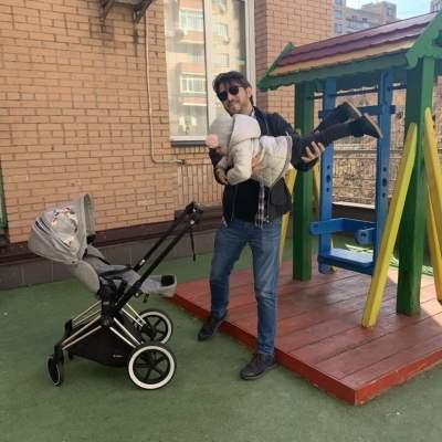 Сергей Притула поделился редким фото с дочкой Соломией