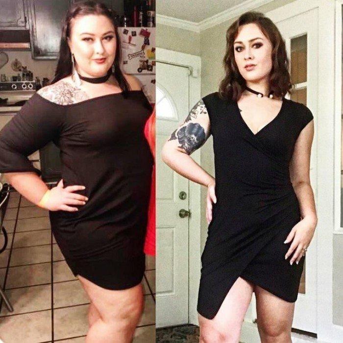 Люди которые похудели результаты