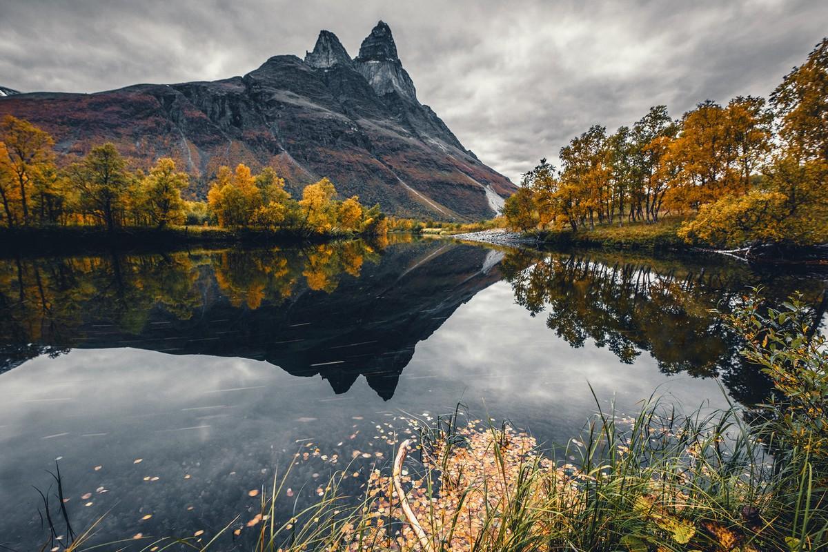один пейзажи норвегии фото под гончей русак