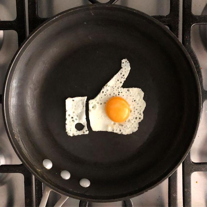 Картинка прикольная завтрак