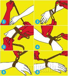 как связать девушку веревкой инструкция - фото 11