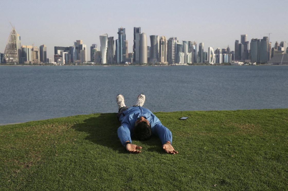Интересные фото из Катара